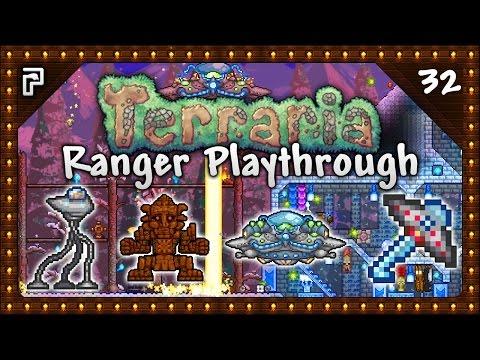 🌳 Terraria 1.3.5 Let's Play | Ranger Playthrough | Golem Revenge! Martians & UFOs! [Episode 32]