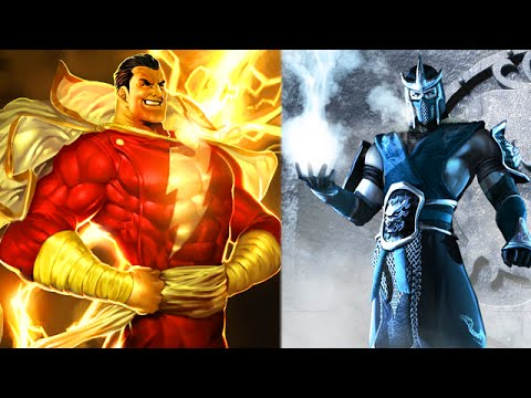 Injustice 2 Shazam Sub Zero Costume Nightwing Poison Ivy QA
