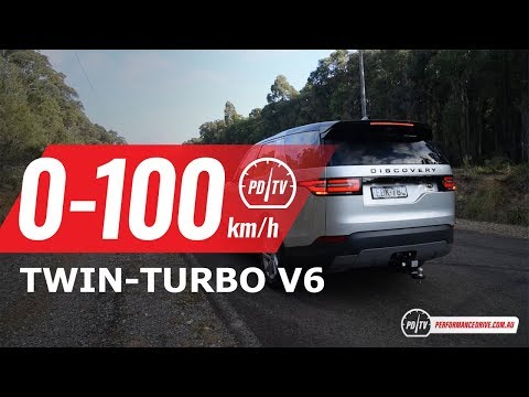 2019 Land Rover Discovery Sd6 0-100km/h & engine sound