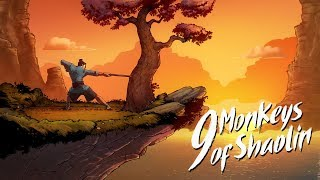 [Gamescom 2018] 9 Monkeys of Shaolin — Gameplay Trailer
