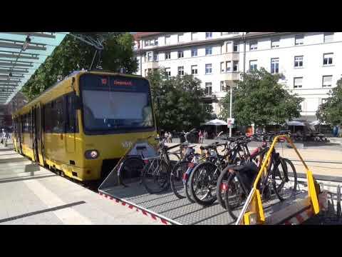 Zahnradbahn (Rack Railway) Stuttgart, Baden-Württemberg, Germany - 7th August, 2017