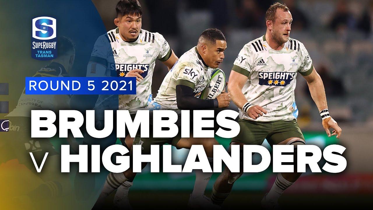 Download Super Rugby Trans Tasman | Brumbies v Highlanders - Rd 5 Highlights