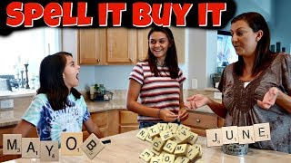 I'LL BUY WHATEVER YOU CAN SPELL CHALLENGE! Emma and Ellie