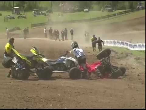 Ballance Moto X  - ATVA 2010 - Pro Am Crashes