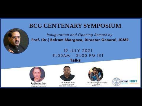 BCG Centenary Symposium