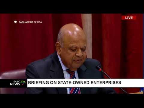 Briefing on State -owned Enterprises - Pravin Gordhan