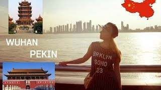 China VLOG Wuhan - Pekin(Hi everyone! Here I will show you the most beautifull places in Wuhan! Yellow Crane Tower, Wuhan Bridges, Hubu Alley, fantastic chinese street dancing square ..., 2016-08-22T18:30:35.000Z)