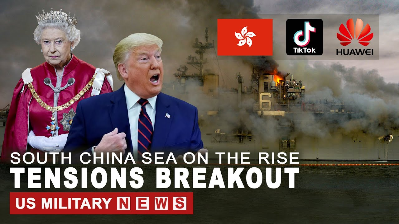 Tension Breakout: UK,Japan and U.S. Send Massive Naval Fleet to South China Sea