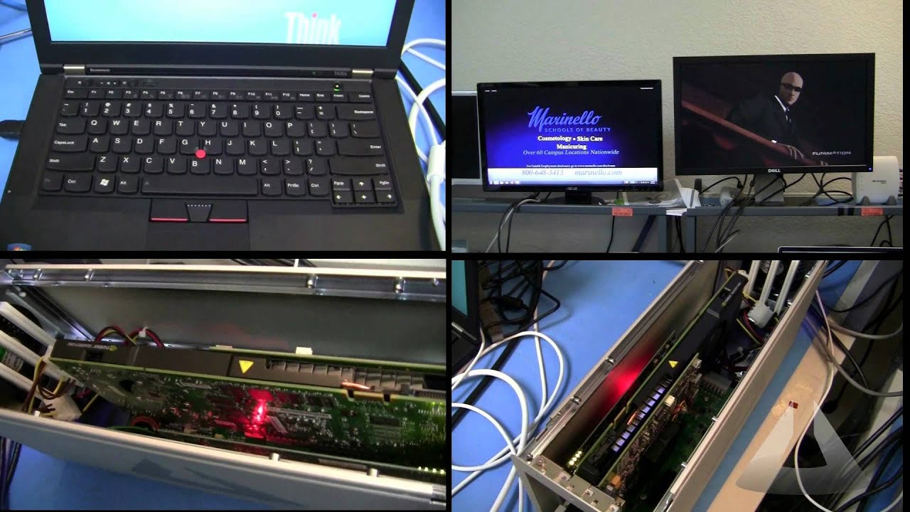 External Graphics Solution for IBM Thinkpad T430s using Magma Thunderbolt  Expansion