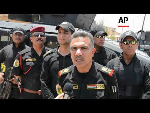 Iraq army attacks IS group fighters near Baiji