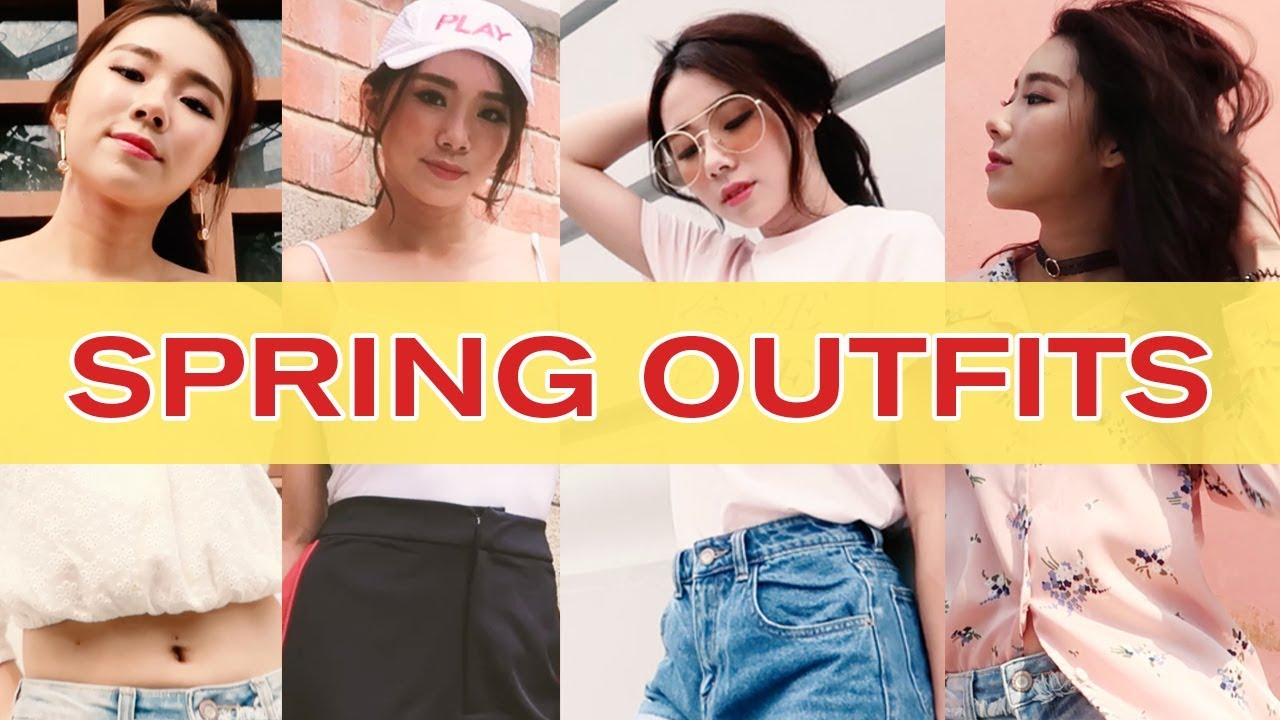 SPRING OUTFITS FT. POMELO FASHION | MONGABONG
