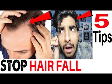 5 Tips to Stop Hair Fall   Hair growth
