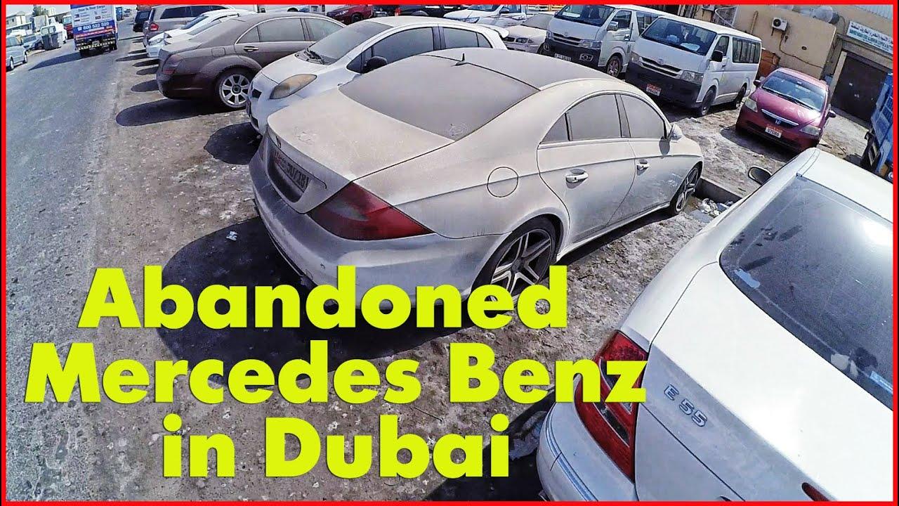 Abandoned Mercedes Benz In Dubai W220 W210 W221 Abandoned Luxury