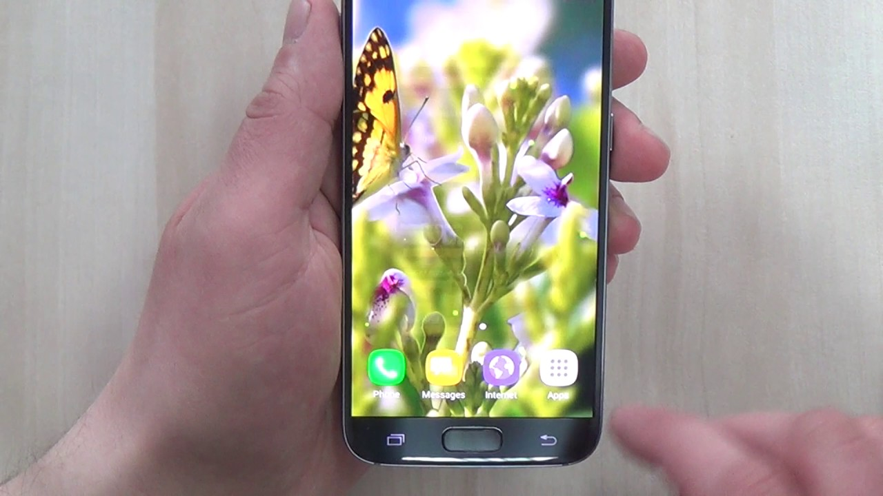 Flower 3D parallax live wallpaper - free theme for Android phones and tablets