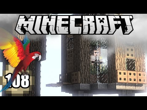Minecraft Survival Indonesia - Kandang Burung Beo! (108)