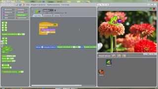Видеоурок по программированию в Scratch
