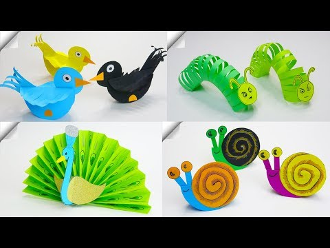 6 DIY paper crafts for kids | Paper toys