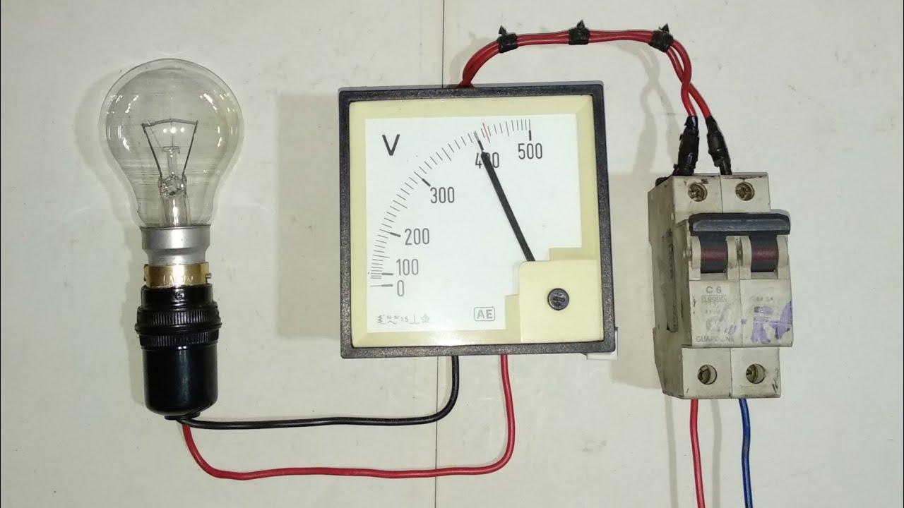 One 100 Watt bulb two phase test lamp wiring|2 फेज में एक 100 वाट के बल्ब को कैसे चलाएं
