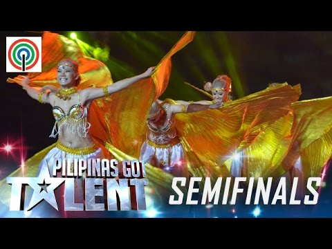Pilipinas Got Talent Season 5 Live Semifinals: Angel Fire - Belly Dancers