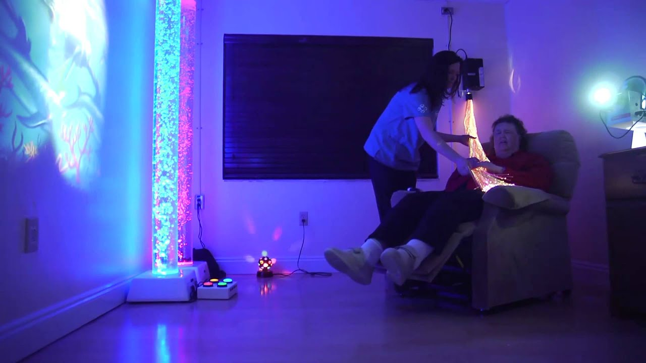 Serenity Innovations 02 Multi Sensory Room Youtube