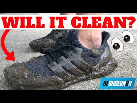 WILL IT WORK?! RESHOEVN8R SNEAKER LAUNDRY SYSTEM TEST ON MUDDY ULTRA BOOST!