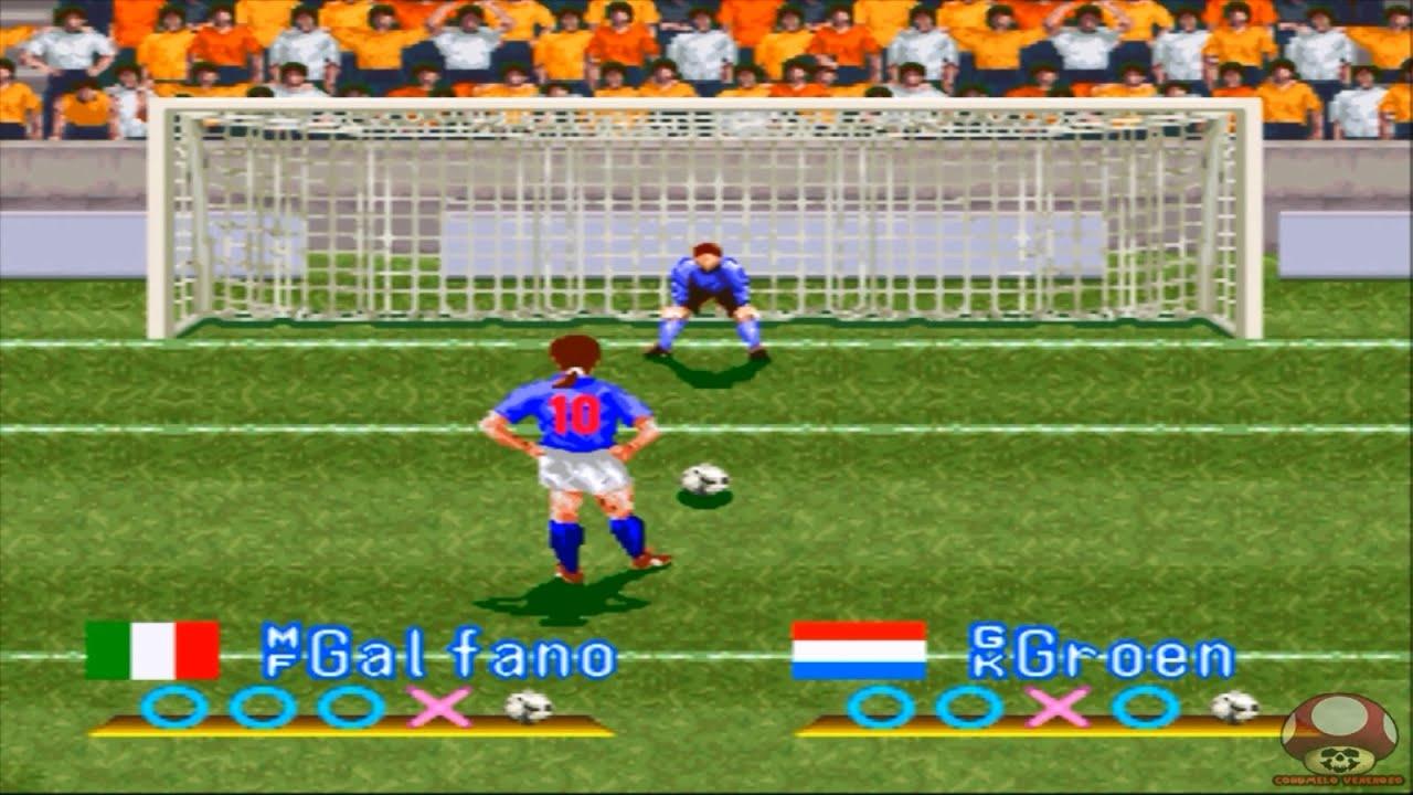 International Superstar Soccer: Penalty Kicks: Italy x Holland ...