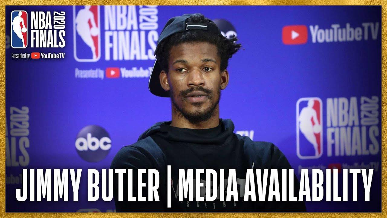 Jimmy Butler #NBAFinals Game 4 Media Availability
