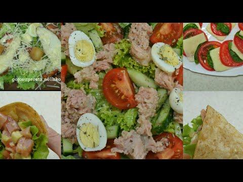 5 салатов без майонеза