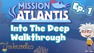★ Poptropica: Mission Atlantis Ep. 1 - Into The Deep - Walkthrough ★