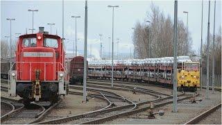 DB Schenker Rail – Werksrangierdienst bei Volkswagen