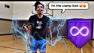 """King Of The Court Clamp God says """"NO BUCKETS"""" crazy moves n a new clamp god emerges"""