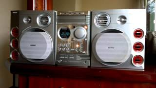 Micro system Philips expanium Mmc 595 3.000w - 5 CDs, MP3, PC-Link - R$ 550,00