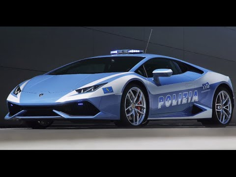 2015 lamborghini hurac n polizia video engine start lamborghini police car carjam tv 2014 youtube. Black Bedroom Furniture Sets. Home Design Ideas