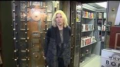 Oskaloosa Iowa Book Store in Old Bank