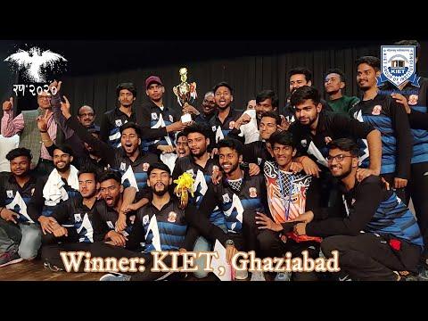 KIET Records Epic Win | KIET XI Vs. ABES-EC Cricket Match