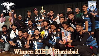 KIET Records Epic Win   KIET XI Vs. ABES-EC Cricket Match
