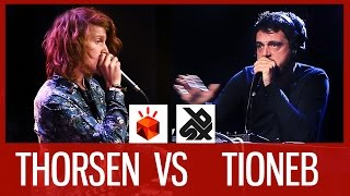 THORSEN vs TIONEB | Grand Beatbox LOOPSTATION Battle 2016  |  FINAL