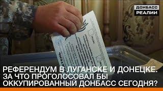 Референдум в Луганске и Донецке. За что проголосовал бы Донбасс сегодня? | «Донбасc.Реалии»