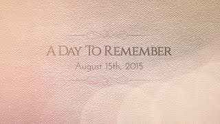 A Day to Remember - Sacred Heart College B.S Chemistry 1993 Alumni Video 2015