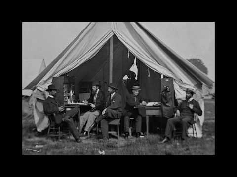 film-like-photographic-sequence-of-civilians-posing-in-a-tent-during-the-american-civil-war-(1860's)