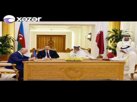Azərbaycan-Qətər sənədləri imzalandı
