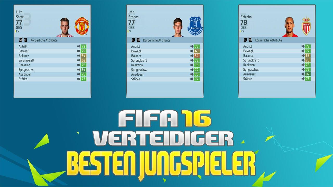 Fifa 16 Die Besten Jungen Spieler Für Die Karriere Verteidiger