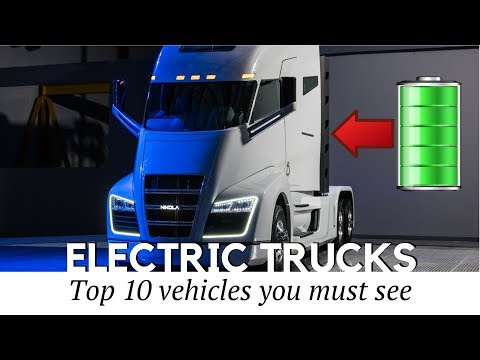 10 Future Trucks & Electric Buses YOU MUST SEE