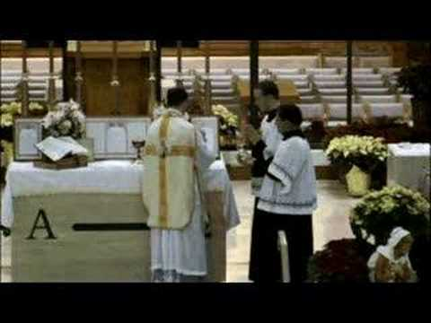 Latin Mass Christmas Ocala, Florida - Fr Fryar FSSP