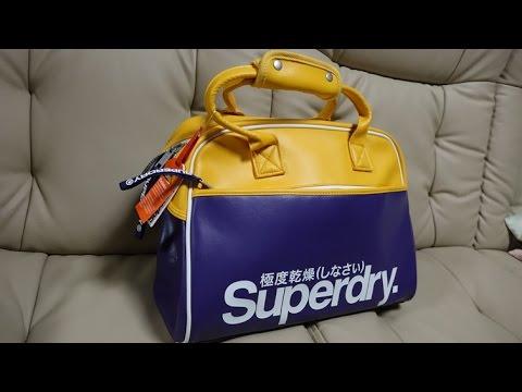 (4K)Superdry.(極度乾燥しなさい) Court Carrier - 英国流行りのトレンドブランドファッション