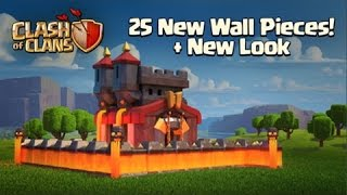 Clash of Clans - NEW UPDATE SNEAK PEEK GAMEPLAY | NEW LEVEL 11 WALLS + 25 MORE!
