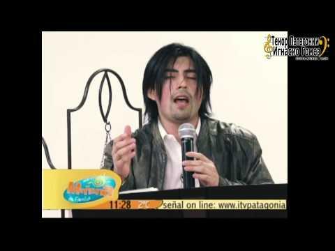 """Rock Tenor Ignacio Gómez Urra """"El Tenor Magallánico"""" Nos Canta Su Éxito """"Sara Braun Iron Girl"""""""