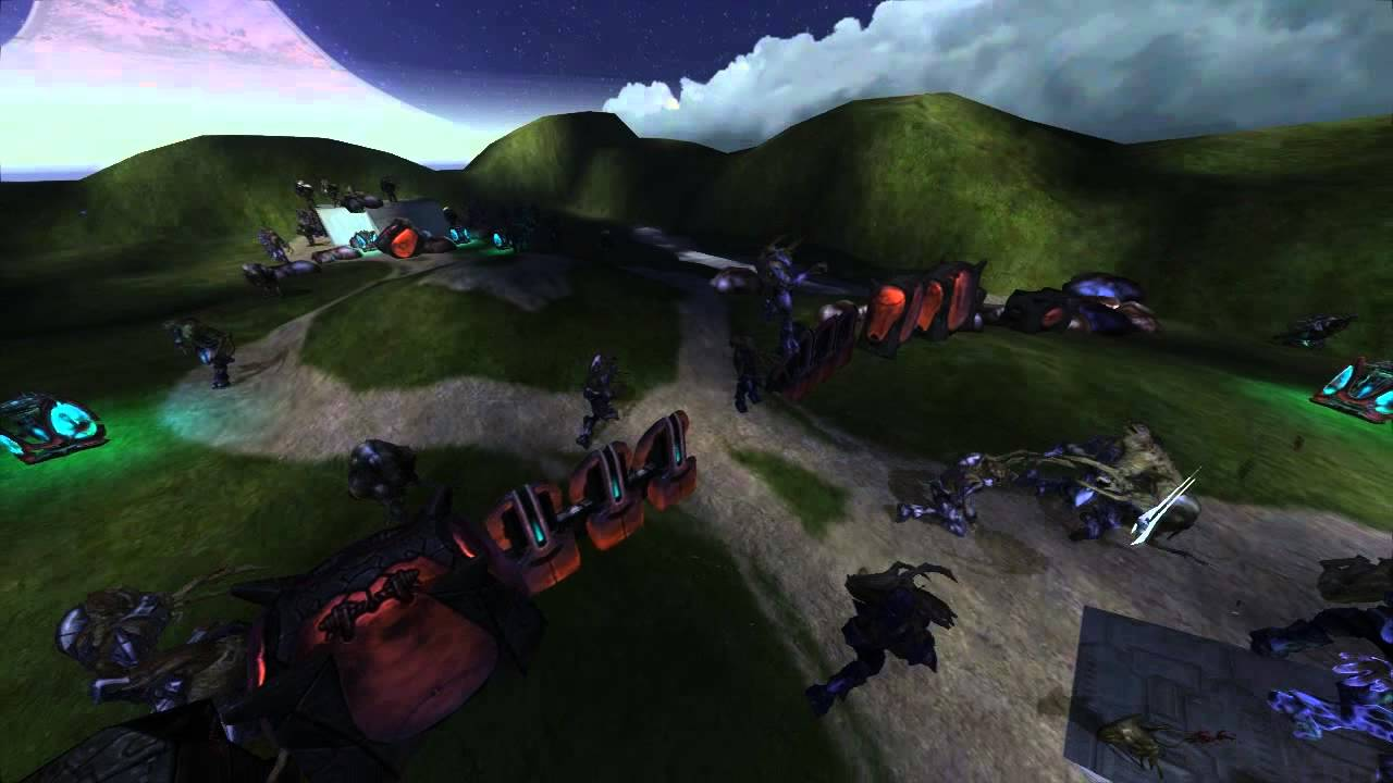 Halo ce covenant vs the flood youtube for Portent halo ce