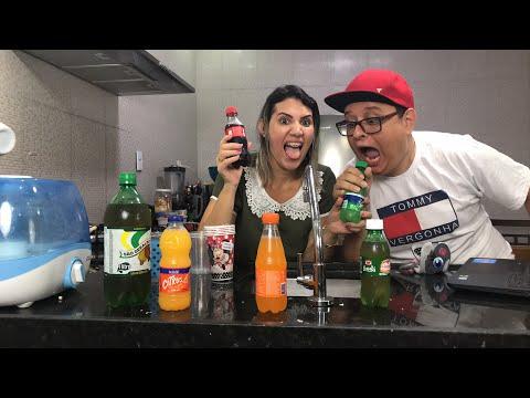 Desafio misturando refrigerantes