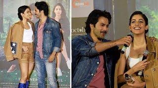 Varun Dhawan Flirting With Banita Sandhu | Latest Bollywood Celebrities Interview 2018